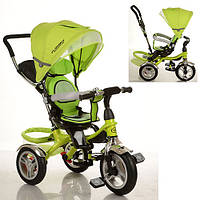 Трехколесный детский велосипед TURBO TRIKE M 3114-4A НАДУВНЫЕ КОЛЕСА - ПОВОРОТНОЕ СИДЕНЬЕ