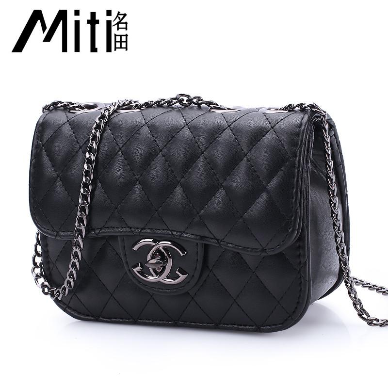 f60df5eb516a Маленькие сумки новый,женская сумка минималистский классический на цепочке  5 цветов - Интернет-магазин