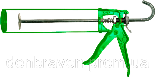 Пистолет для герметика COX 310S HKM green , фото 2