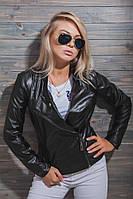 Стильная женская куртка из кож-зама