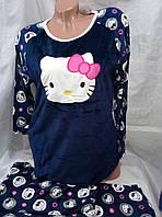 Женская молодежная качественная пижама 46-50рр