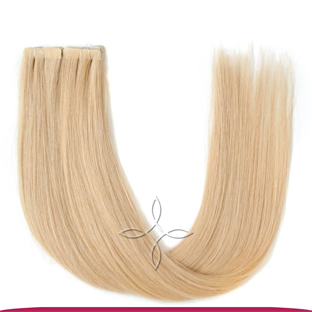 Волосы на Лентах с Иммитацией Роста Волос 55-60 см 100 грамм, Блонд №22B