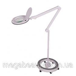 Лампа-лупа на штативі 6017, LED