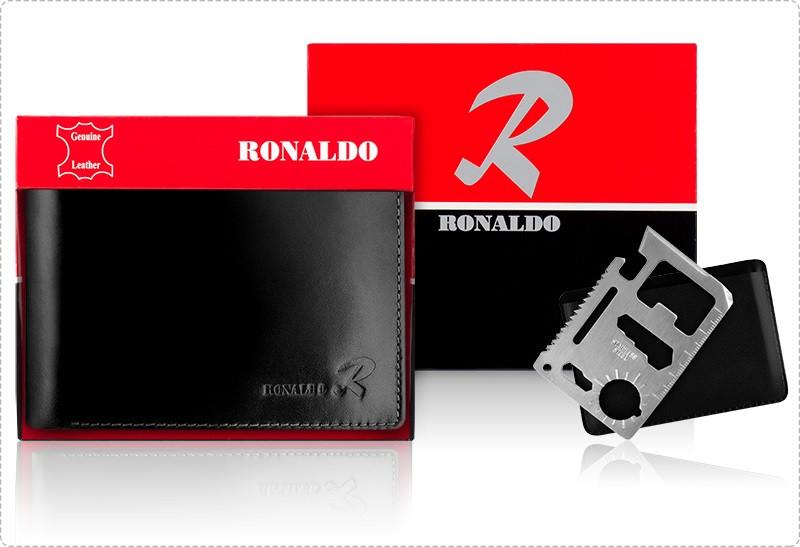 Чоловічий бізнес гаманець Ronaldo Нова колекція 2020
