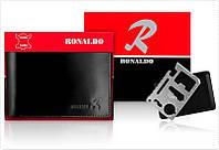 Мужской бизнес кошелек Ronaldo Новая коллекция 2017