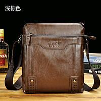 Натуральная кожа мужская сумка  бизнес случайный кожаный портфель , фото 1