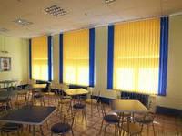 Установка Вертикальных жалюзи в студенческой столовой