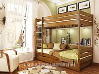 Двухъярусная кровать Дуэт 90 х 190 щит