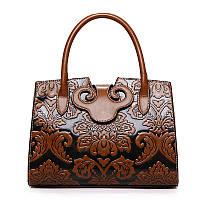 Сумка ретро тиснением китайский стиль деловая сумка 4 цвета