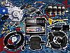 Мини-комплект Stag-4 Qbox basic, Редуктор Alaska, Форсунки Hana, Фильтр