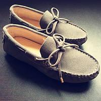 Мокасины плоский каблук удобная кожаная обувь плоские туфли 9 цветов