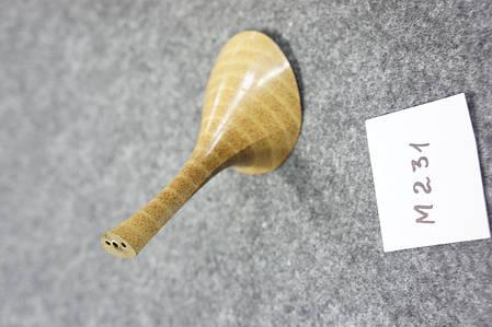 Каблук женский пластиковый  М-231 h-9,7 см.чорн.беж., фото 2