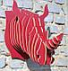 Декор на стену Носорог, фото 4