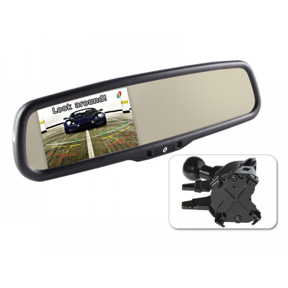 зеркало с монитором skoda octavia a7