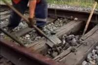 Отходы древесины, пропитанной химикатами в процессе утилизации шпал