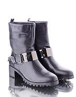Женские Стильные ботинки -сапоги с цепочкой (весна)