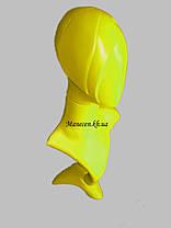 Манекен бюст с выдувной головой цветной, фото 3