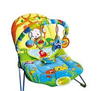Детский Шезлонг Планета детства обезьянка ZYA (кресло-качалка)