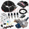 Мини-комплект Stag-4 Qbox plus, Редуктор Alaska, Форсунки Hana, Фильтр