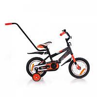 Двухколёсный велосипед STITCH с родительской ручкой  12