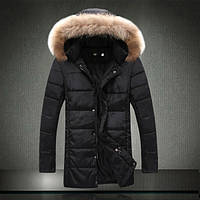 Мужская зимняя куртка на синтепоне 250