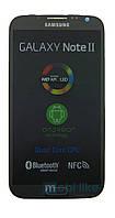 Дисплей с сенсорным экраном Samsung N7100 Note 2 черный с рамкой, фото 1