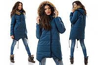 Женская пальто-куртка  зима Canada    4 цвета S>M>L