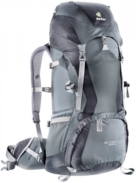 Deuter ACT Lite 50 + 10 серый (33750-4700)