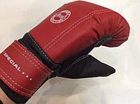 Перчатки снарядные мягкие с напульсником кож/винил, Boxing (Украина)
