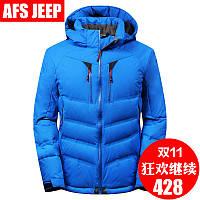 Длинный участок в afs джип/боя джип куртка мужчин толстый-сезон оформление молодежного XL куртка