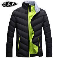 Мужские пальто зима 2016 новый куртка мужской корейская версия мужской хлопок-ватник молодежи Slim-подходят хлопка-ватник зимняя одежда красивый