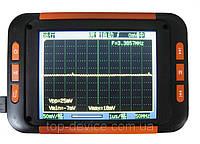 Осциллограф Mini Pocket 40MHz 200MS/s Handheld Oscilloscope 3.5TFTLCD 1KmA Li-battery QDSO