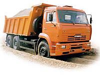 """Песок мытый """"Безлюдовка"""" с доставкой (8 м.куб.)"""