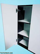 Шкаф навесной для ванной комнаты Симпл-Венге 60-02 ПИК, фото 3