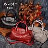 Европейский стиль женская сумка натуральная кожа 3 цвета