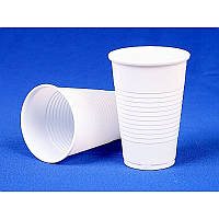 Стакан пластиковый одноразовый 170мл белый