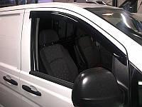 Дефлекторы окон (ветровики) Mercedes Benz Vito (W639) 2002