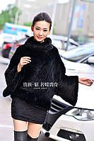 Новый Женский норки пальто норки меха вязание мода досуг куртка кожи травы норки трикотажные меховая куртка, фото 1