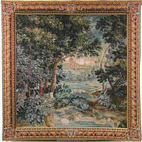 Гобеленовая картина Art de Lys Вердюр каскад 150х150см