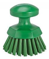 Щітка кругла, жорстка, зелений, 110 мм, 38852 VIKAN