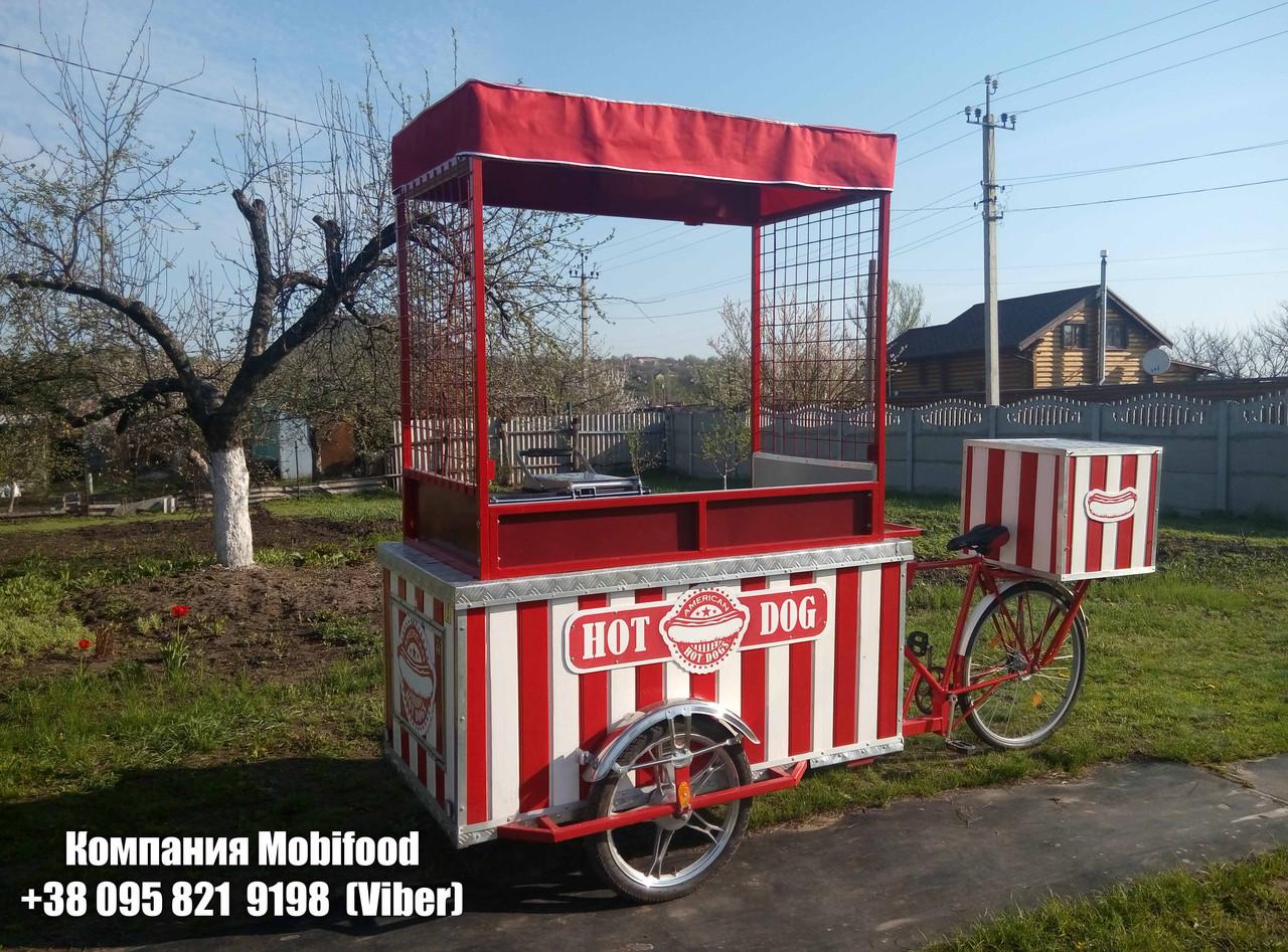 """Велотележка """"Start"""" (ВТ-1). Вело рикша."""