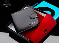 Pierre Cardin мужской кошелек натуральная кожа премиум-класс