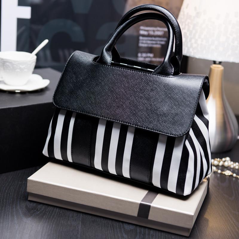 c311dd832597 2017 женская сумка полосатая зебра 2 вида - Интернет-магазин
