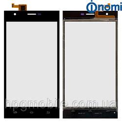Сенсорный экран для Nomi Jump i503, черный, оригинал