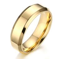 Кольцо под обручальное, цвет - золото, 16, 17, 18, 19, 20й рр