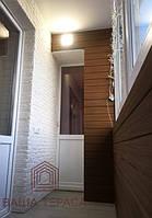 """Навіть маленький балкончик можна зробити затишним куточком для відпочинку) Використано матеріали ТМ """"Legro""""."""