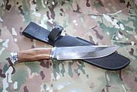 Нож  охотничий с фиксированным клинком Таёжный-2,ручная работы