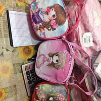 Детские сумочки для девочек в стиле аниме (3вида)