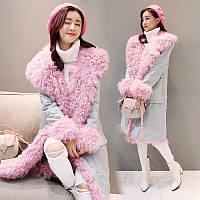 Корейская версия женщин 2016 зима новый толстый пуховик женщин длинный абзац корейский овечьей шерсти тонкий тонкий слой, фото 1
