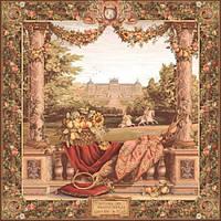 Гобеленовая картина Art de Lys Терраса в замке 150 х 150 см